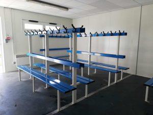 vestiaire sportif modulaire