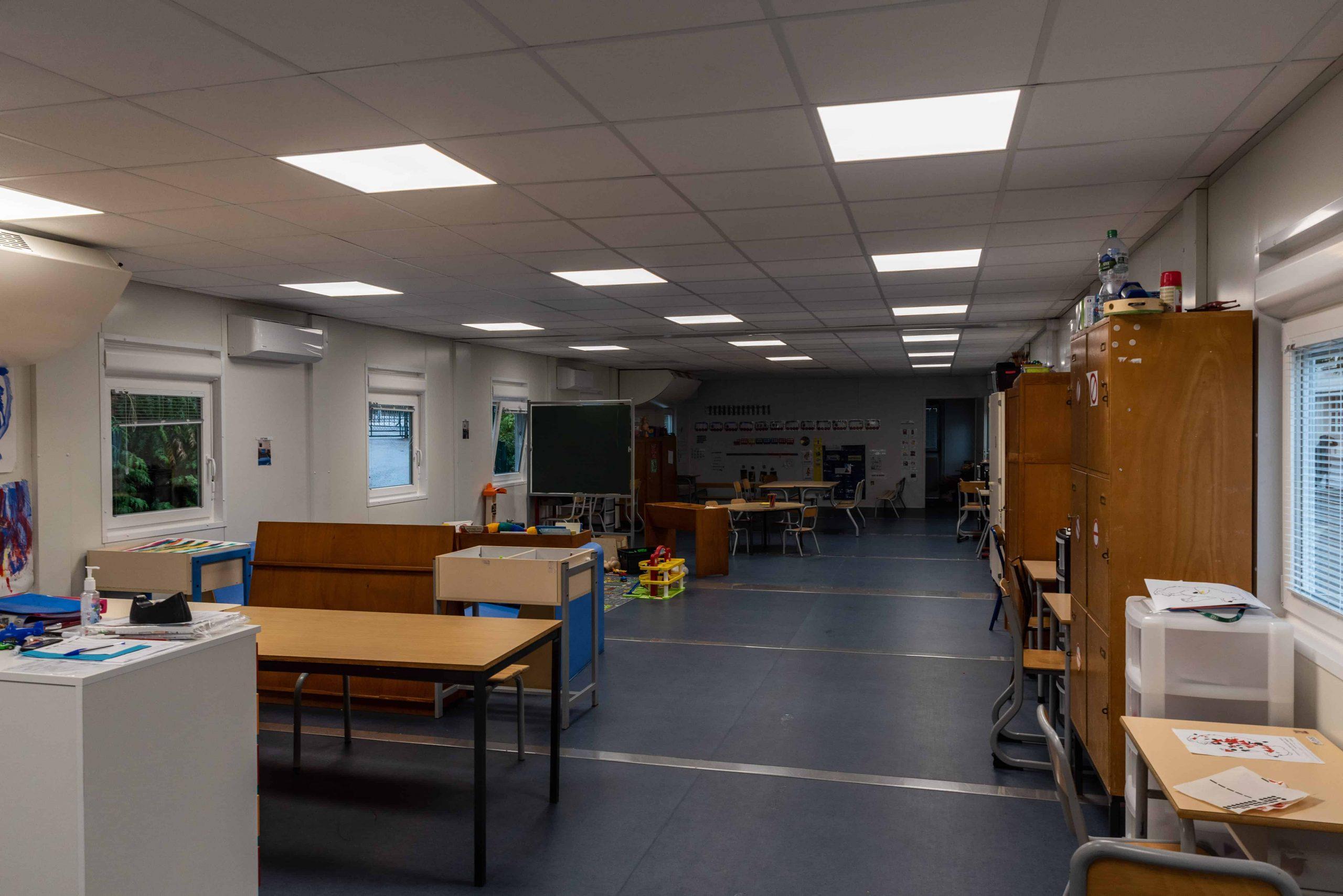 salle de classe modulaire en location